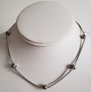 3 for $20 SALE Avon Silver Knot Necklace Vintage